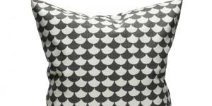 Waves - Black/Gray 50x50