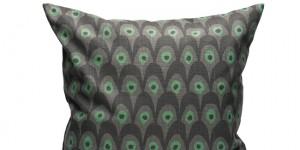 Circus Bird - Gray/Green 50x50