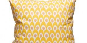 Circus Bird - White/Yellow 65x65
