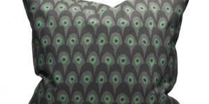 Circus Bird - Gray/Green 65x65