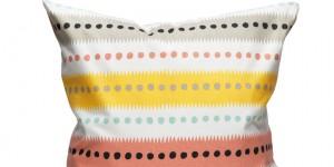 Stripe Dot - White/Multi 50x50