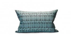 Littlephant cushion drop blue/black