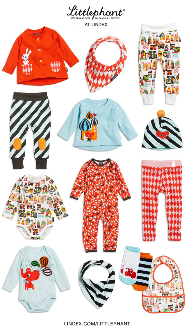 Littlephants First Collection Of Baby Clothes At Lindex Littlephant
